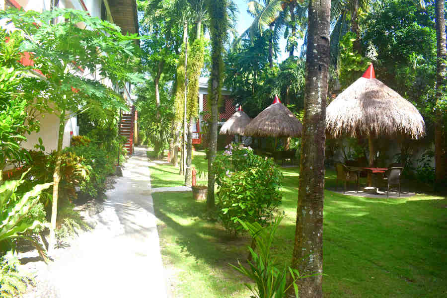 sustainable gardens in boracay eco resort