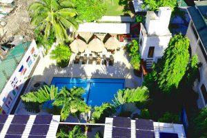 pool in eco resort in boracay