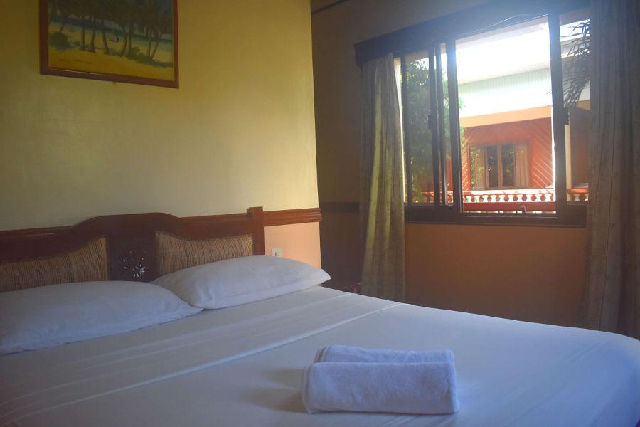 queen room in eco resort boracay